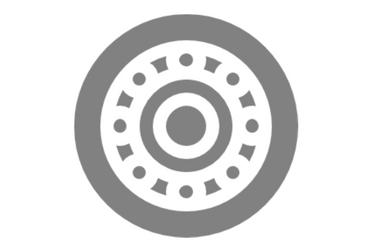 Grey truck tire
