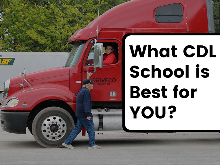 How to Choose the Best CDL Training School for You!